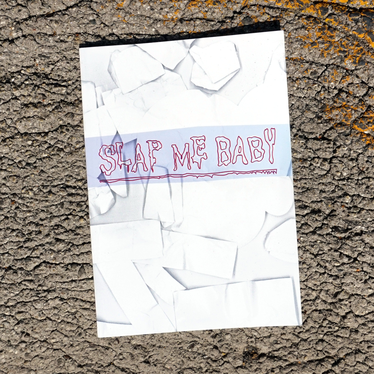 Slap Me Baby Zine #1 Cover